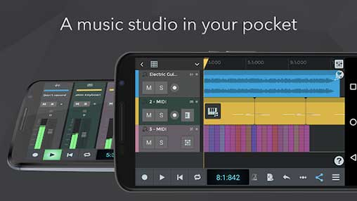 n-Track Studio 9 Pro Music DAW Apk for Android