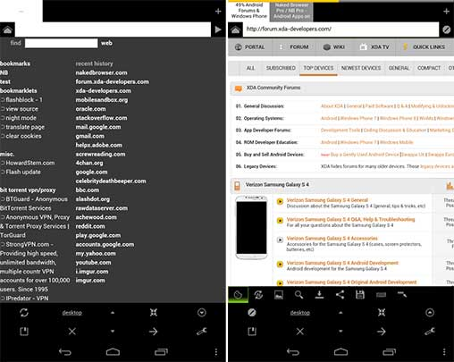 Naked Browser Pro / NB Pro web browser 1 0 Apk for Android