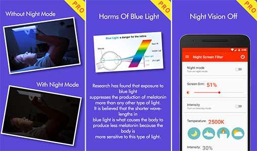 Night Screen Filter Pro Apk