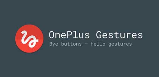 Resultado de imagen de OnePlus Gestures — Gesture Control