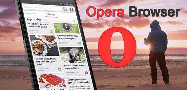 Opera browser Apk for Android