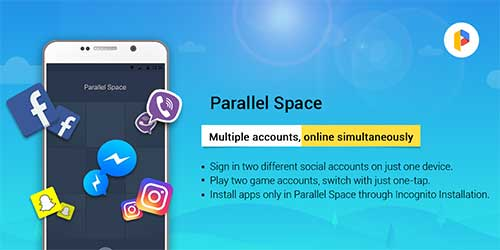 Parallel Space - Multiple accounts 4 0 8840 Apk MOD (Premium)