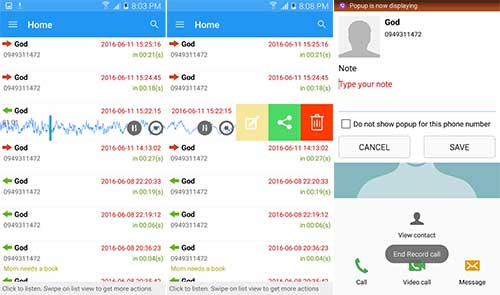 PRO Robot Note Call Recorder Apk