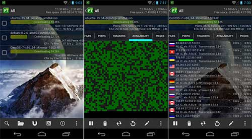 torrent from android