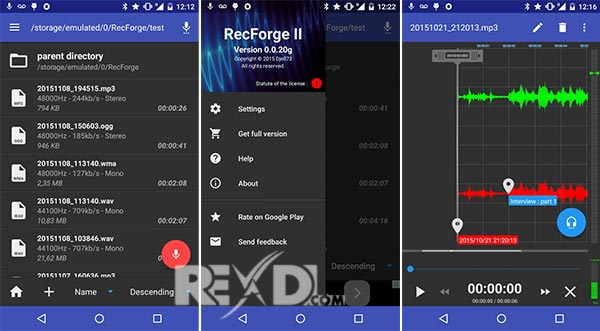 RecForge II – Audio Recorder Apk
