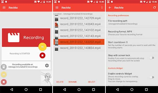 RecMe Pro Screen Recorder HD Apk