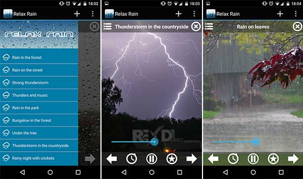 Relax Rain – Nature sounds Apk