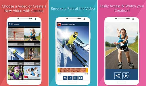 Reverse Video Movie Camera Fun Premium Apk