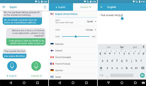 SayHi Translate Apk