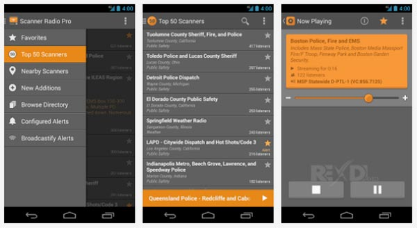 Scanner Radio Pro android