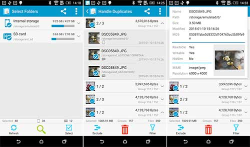 Search Duplicate File Apk