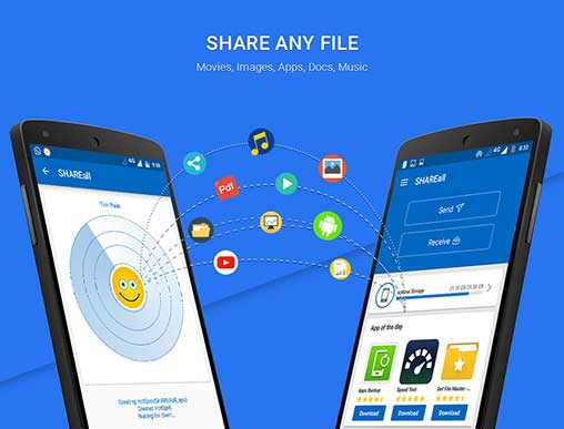 SHAREall PRO File Transfer