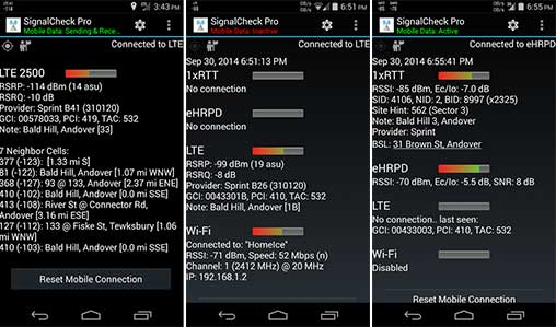 SignalCheck Pro Apk