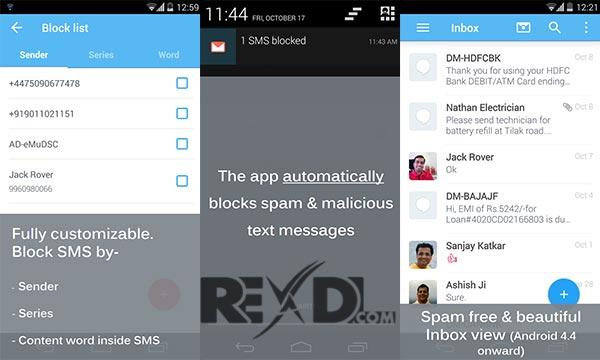 SMS Blocker Clean Inbox Premium Apk