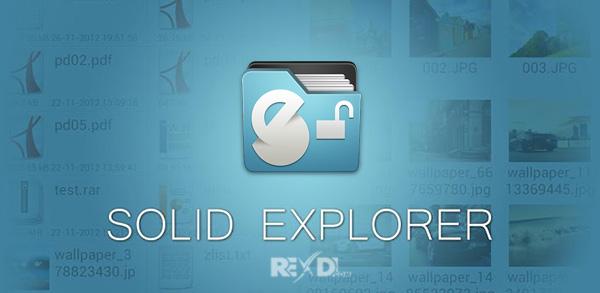 Solid Explorer Unlocker 2.7.13 APK + Mod (Final/Full Version)