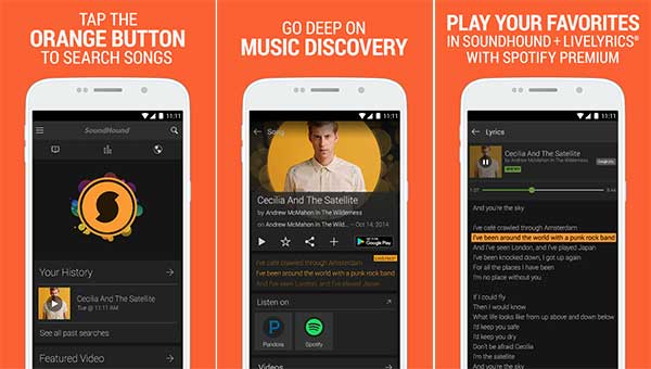 SoundHound ∞ Music Search 9 0 0 (Full) Apk for Android