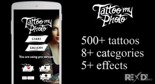 Tattoo my Photo 2 0 Pro 2 77 Patched APK for Android