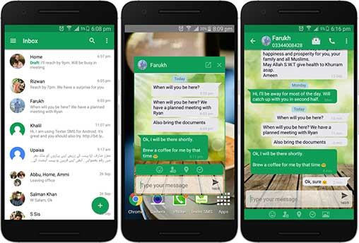 Texter SMS Pro Messaging Apk