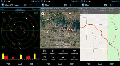 Ultra GPS Logger Apk