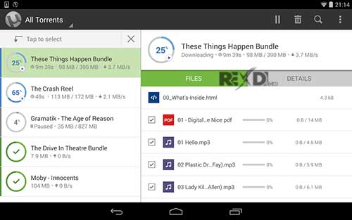 µTorrent Pro - Torrent App 6 1 4 Apk + Mod (Paid) Android