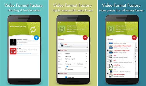 file format factory for android
