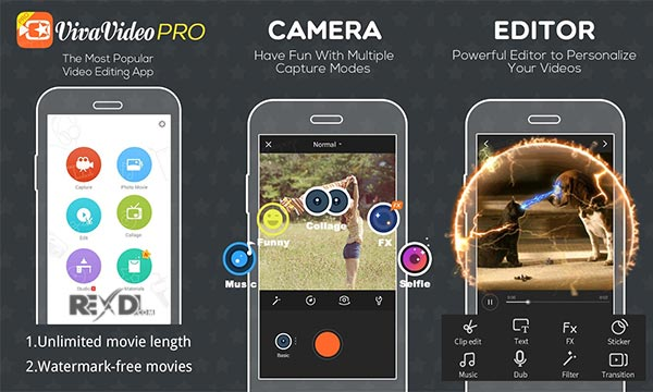 VivaVideo Pro Video Editor App 6 0 4 (Full) Apk + Mod + 7 14