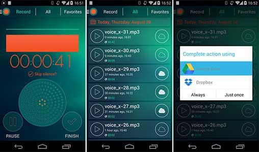 Voice Recorder Premium – Dictaphone 2.6 Unlocked Apk Android 2019 !