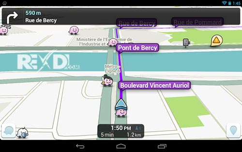 Waze social GPS maps & traffic for Android