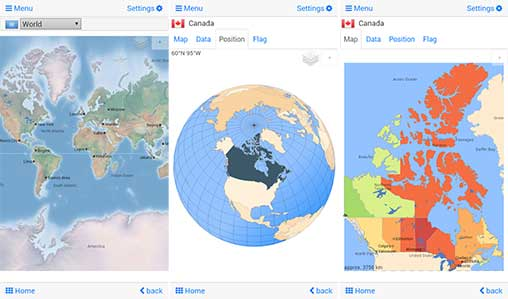 World atlas & map MxGeo Pro Apk