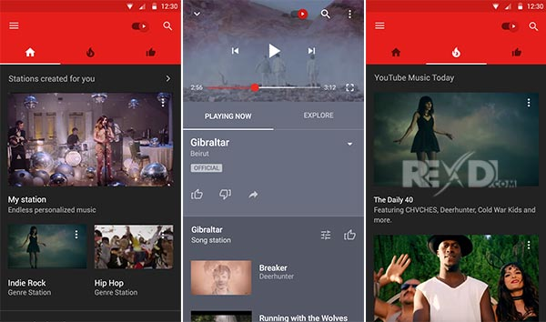 youtube music premium apk rexdl