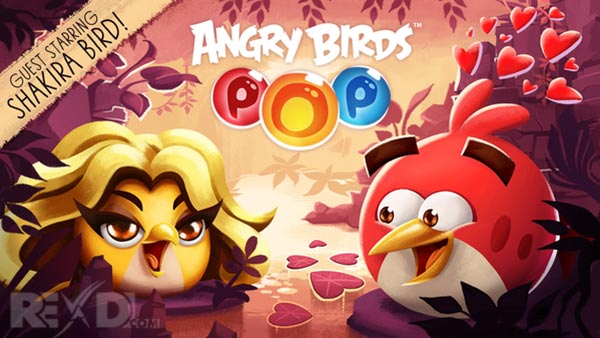 Angry Birds POP - Shakira Bird
