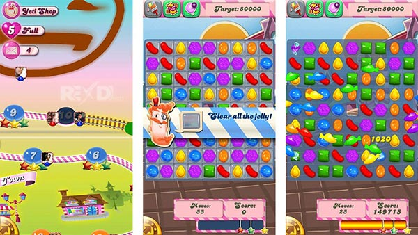 candy crush saga mod apk auto win