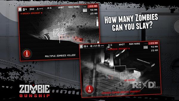 Zombie Gunship: Gun Dead 3D apk