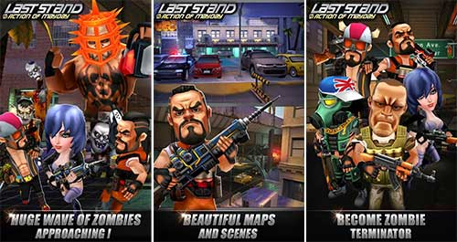Action of Mayday Last Stand Apk