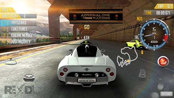 Adrenaline Racing Android