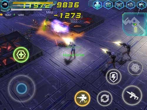 Alien Zone Raid Apk