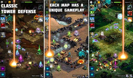 Ancient Planet Tower Defense Apk