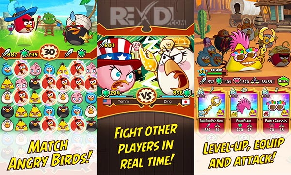 Angry Birds Fight RPG Puzzle Apk
