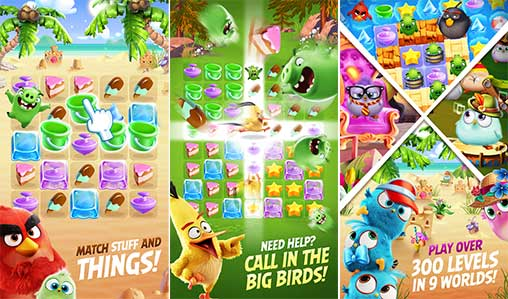 Angry Birds Match 1 3 0 Apk Mod For Android