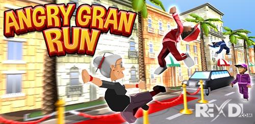 Angry Gran Run Running Game Apk Mod Revdl