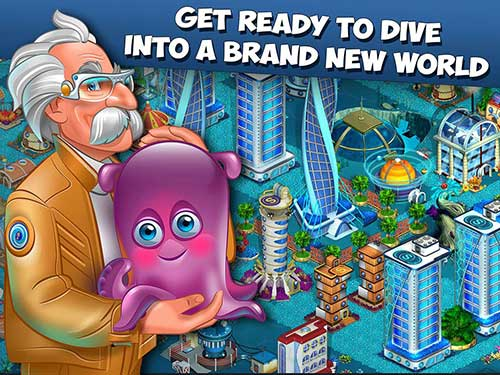 Aquapolis  Build a megapolis Apk
