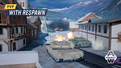 Armored Warfare: Assault Apk