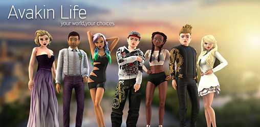 Avakin Life - 3D virtual world