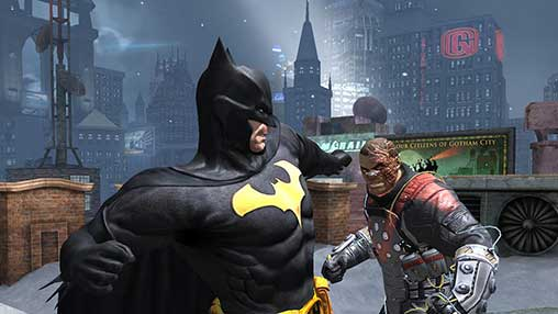 Batman Arkham Origins 1.3.0 Apk + Mod + Data for Android