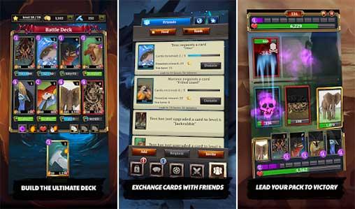 Battle Cards Savage Heroes Apk
