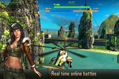 Battle of Helicopters Apk