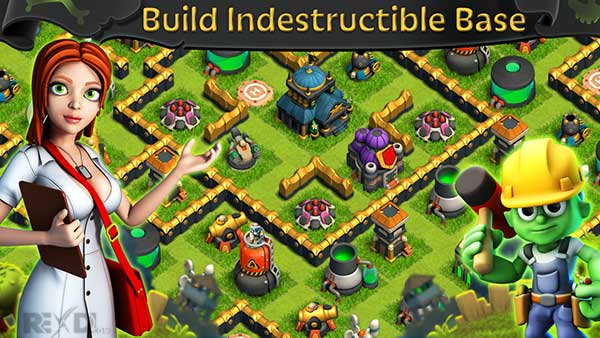 Battle of Zombies: Clans MMO Apk