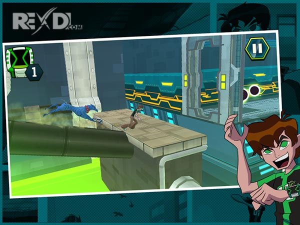 Ben 10 - Undertown Chase Apk
