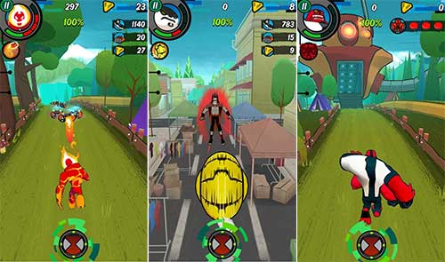 Ben 10 Up to Speed Apk