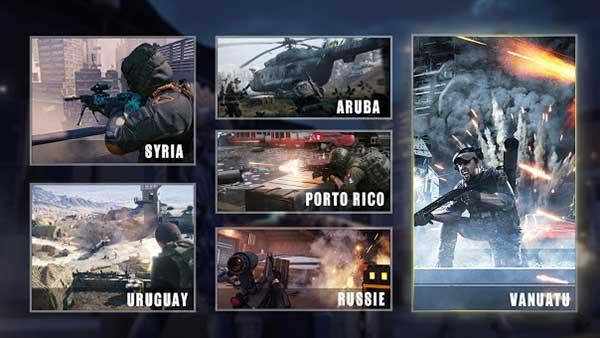 Black War Sniper Mod